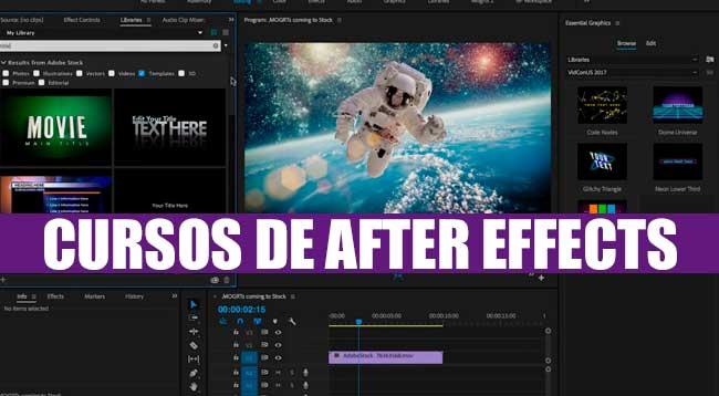 Cursos de After Effects Gratis